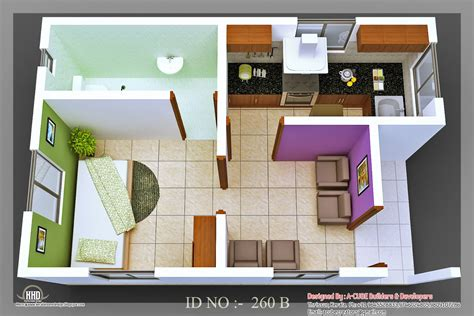 home design 3d view 3d isometric views of small house plans kerala home