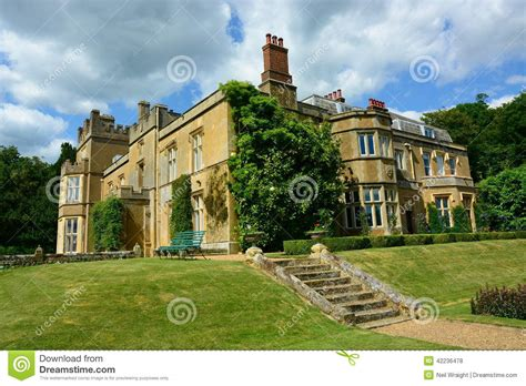Country Farmhouse Plans english country house stock photo image 42236478