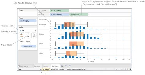 tableau tutorial histogram tableau tips options for box and whisker vizpainter