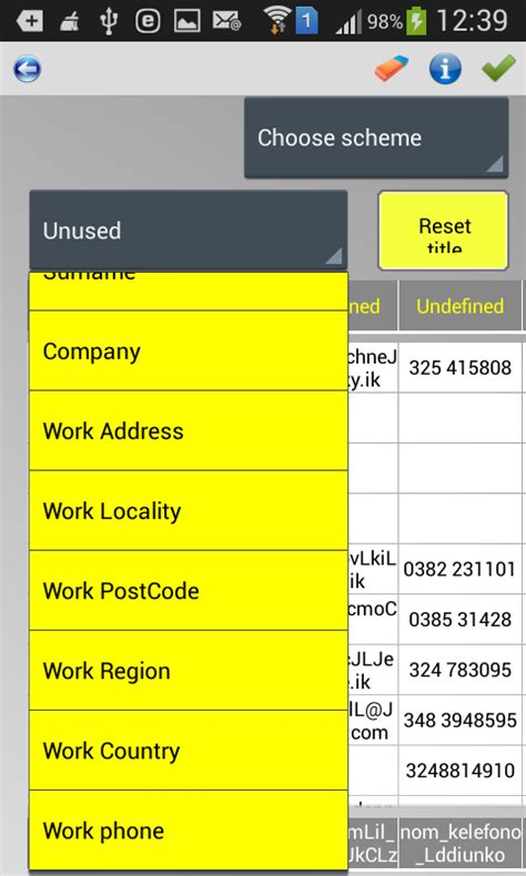 csv format for android contacts import contacts xls csv txt android apps on google play