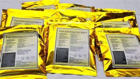Gold Slimming Detox Foot Patch Murah by The Toxin Detox Foot Pacth Koyok