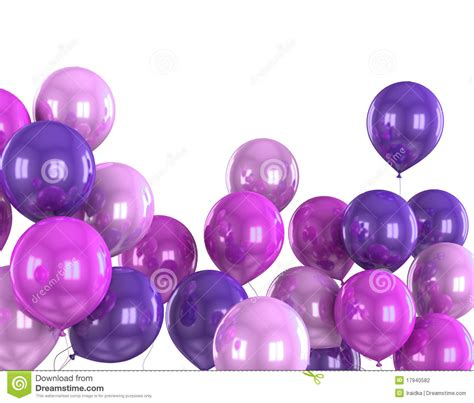 what color is helium 3d color helium balloon stock photography image 17940582