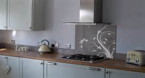 Funky Kitchen Designs Excellent Examples Of Patterned Splashbacks For Cookers