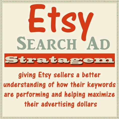 Etsy Search Etsy Search Ad Stratagem Helping Etsy Sellers Become Quot Ad Smart Quot Handmadeology