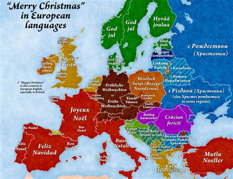 map shows merry christmas   languages