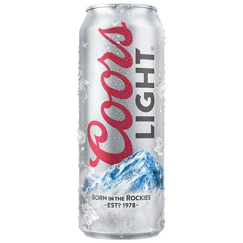 does coors light have yeast how much alcohol does a 24 oz of coors light have
