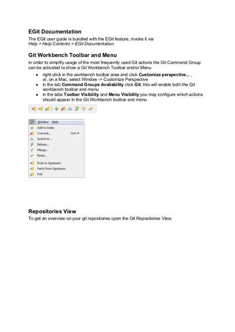 git tutorial config git tutorial eclipsecon france 2014 git exercise 01