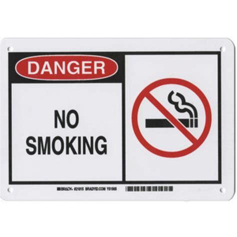 no smoking sign plastic warning sign danger no smoking plastic