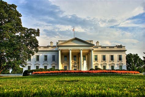 where is the white house the construction of the white house from the first brick till today