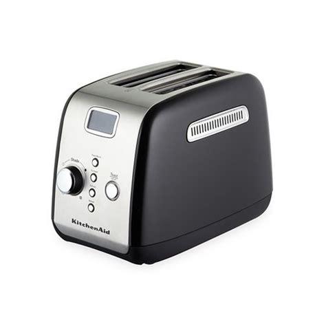 Black Toaster Sale Kitchenaid Artisan 2 Slice Toaster Onyx Black On Sale Now