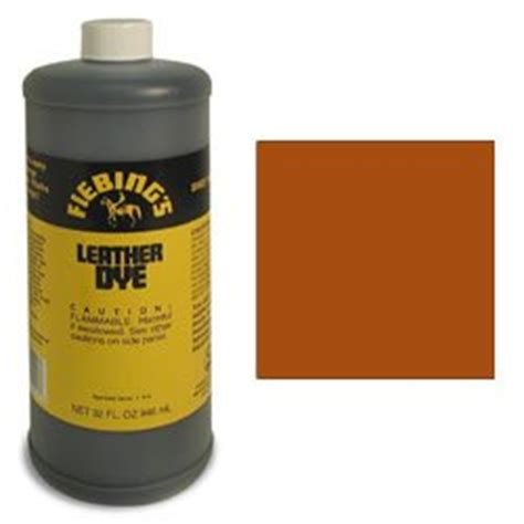 Leather Dye Brown by Tandy Leather Fiebings Light Brown Leather Dye