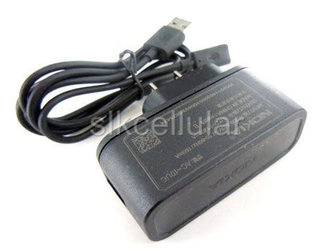 Travel Charger Nokia N70 Lubang Kecil Ac 3e Original nokia charger new oem nokia home wall charger usb cable