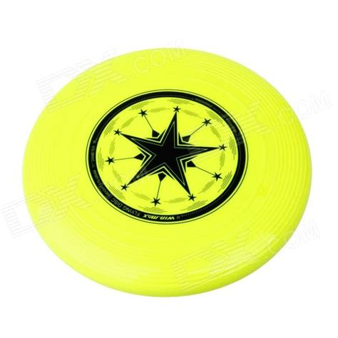 pet flying disc yellow winmax wmb10637 flying disc frisbee pet for