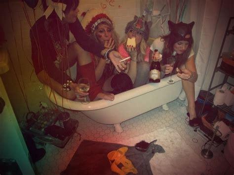fun in the bathtub appropriation bath bathroom bathtub batman cigarette