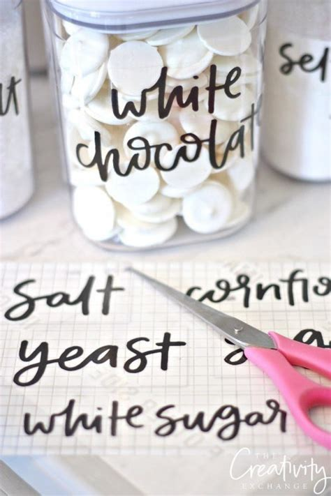White Kitchen Canister Set free printable pantry labels hand lettered iseeidoimake