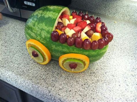 Watermelon Fruit Bowl Baby Shower by Watermelon Baby Carriage Fruit Bowl S Baby
