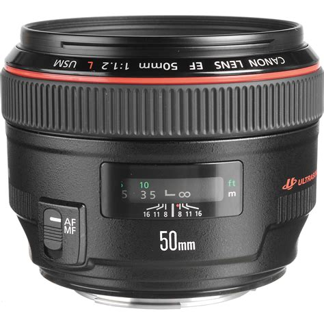 Lensa Canon Ef 50mm F 1 2 L Usm canon ef 50mm f 1 2l usm lens 1257b002 b h photo