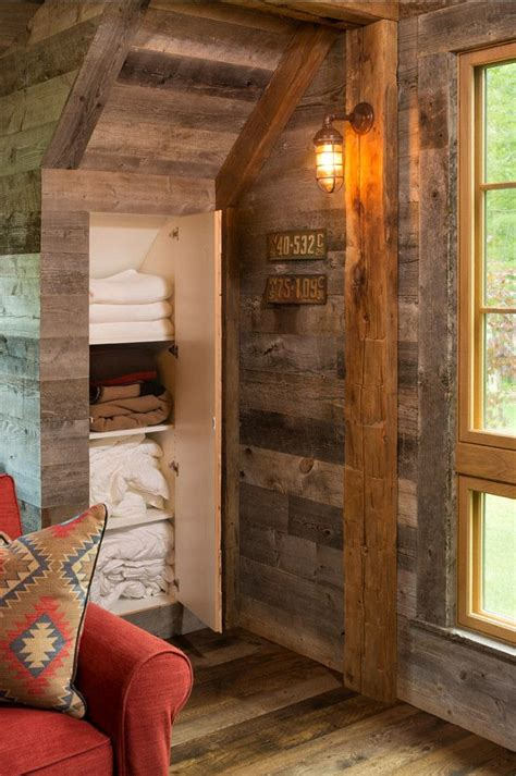 storage ideas  rustic guest house   creative