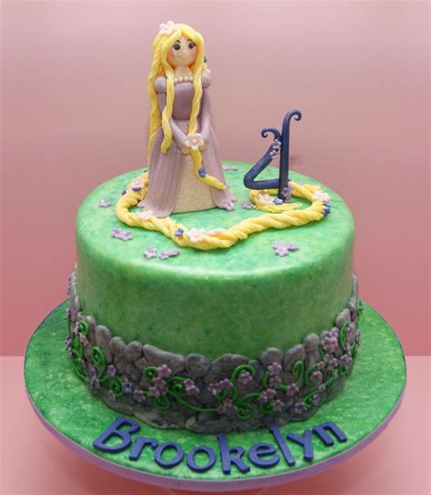 This Is A Cake by My Rapunzel Cake This Rapunzel Inspired Cake Is Strawberry