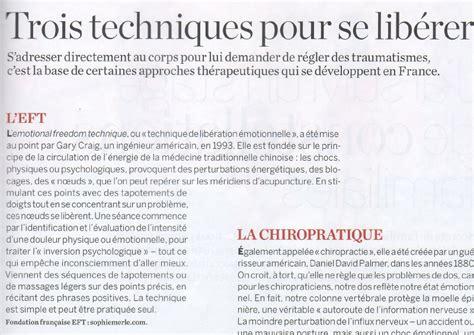 Sante Magazine Juillet 2012 Antistress Eft Techniques De Libert 233 233 Motionnelle eft dans psychologies mai d 233 cembre 2010