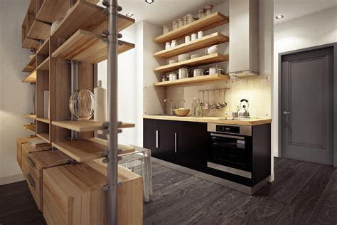 Urban Kitchen Design | 3 beautiful homes under 500 square feet