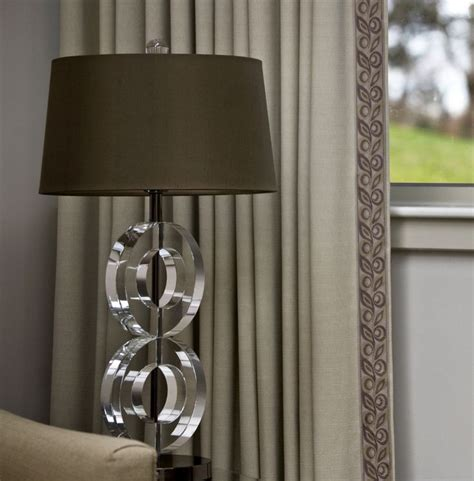 decorative trim for curtains finish draperies with a simple flat tape serenity