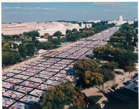 The Aids Memorial Quilt by Aids Quilt Panels Will Be On Display At The Wallis Center