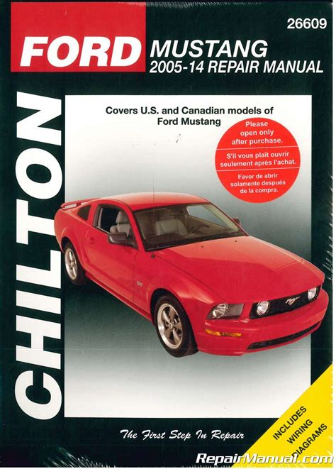free auto repair manuals 2011 ford mustang parking system chilton ford mustang repair manual 2005 2014
