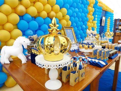 Blue And Yellow Royal Pri E  Ee  Birthday Ee    Ee  Birthday Ee    Ee  Party Ee