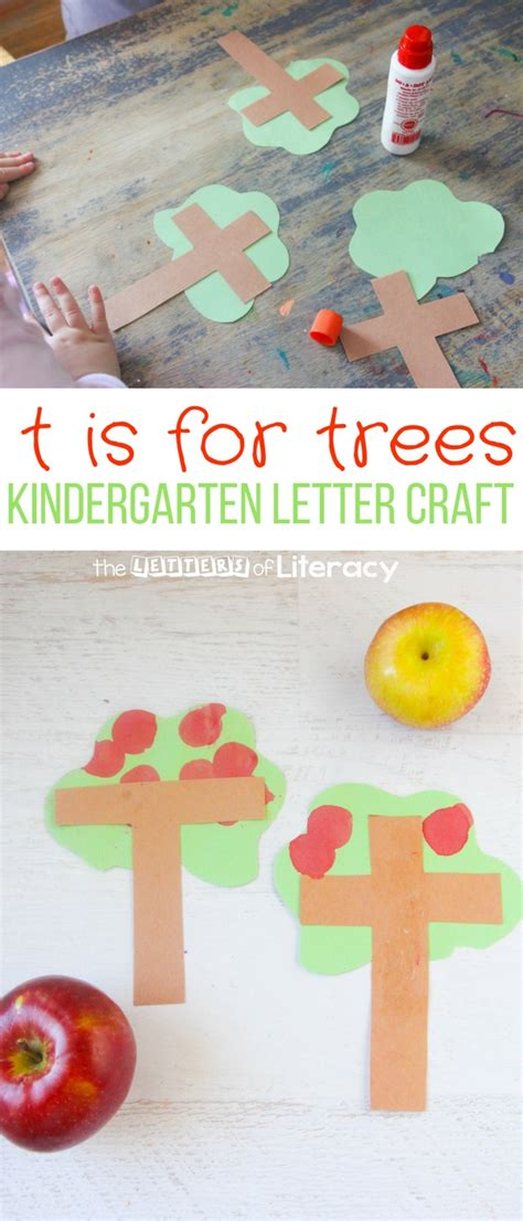 t is for tree a letter of the week preschool craft letter t craft t is for tree kindergarten letter craft