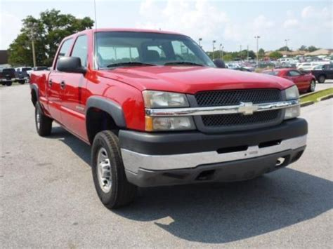 how to work on cars 2004 chevrolet silverado 1500 electronic valve timing buy used 2004 chevy silverado 2500hd crew cab cng bi fuel nice work truck bi fuel in pensacola