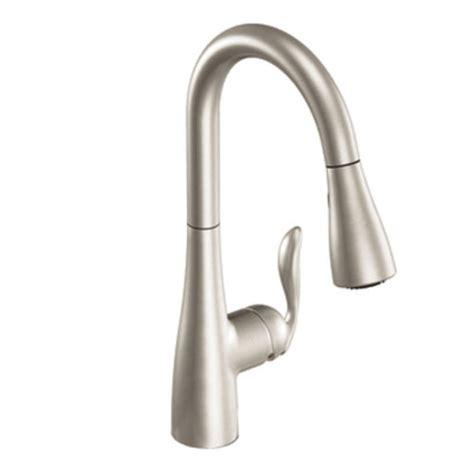 moen single handle pulldown kitchen faucet