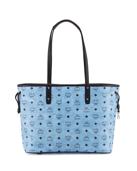 Tote Shopper Bag Denim Tote Bag Original mcm shopper project visetos reversible tote bag denim