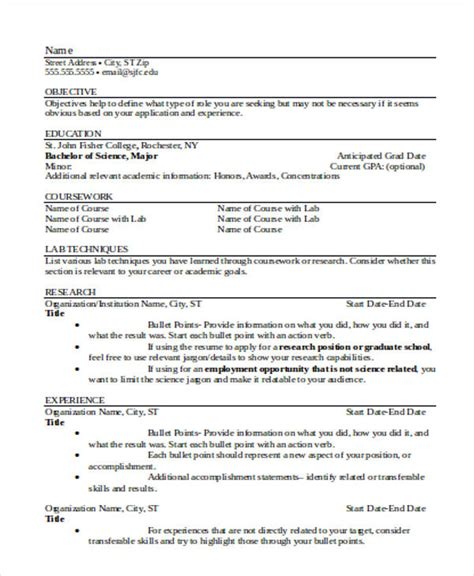 experienced resume format template 16 free word pdf