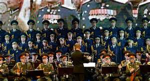Public is worried about the upcoming visit of the russian army choir
