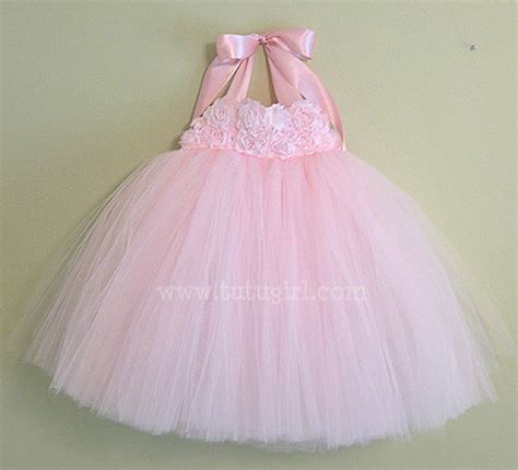 tutu dress light pink tutu dress
