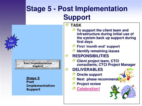 post implementation plan template erp implementation methodology wkshp 2 0 120611