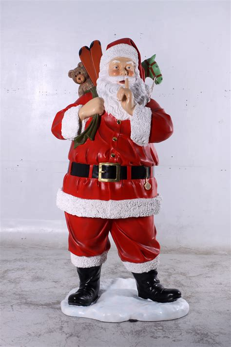 decorating with father christmas figures with toys 6ft jr 140004 the jolly roger size 3d models resin figures