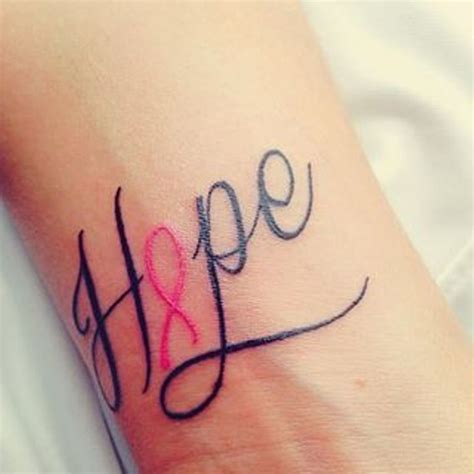 52 lovely hope wrist tattoos
