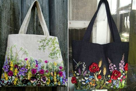 Handmade Embroidered Bags - handmade embroidered bags will give a makeover to your