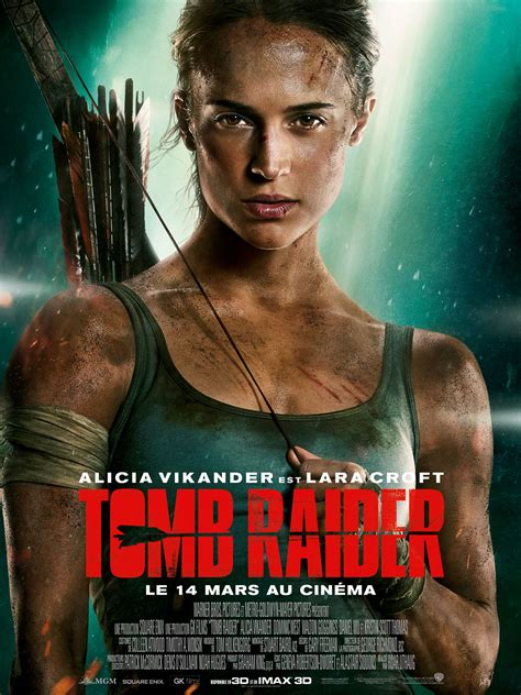 film action 2018 tomb raider film 2018 allocin 233