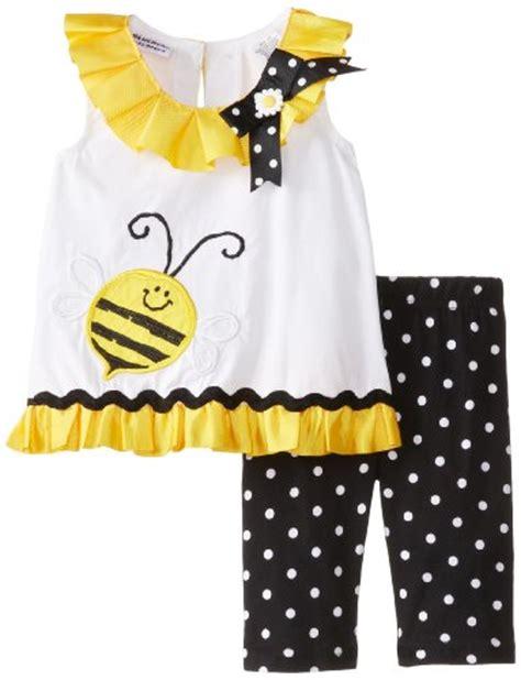 Bee Shortpants Pajamas blueberi boulevard baby infant 2 bumble bee dots and bows pant set