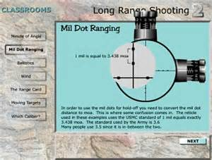 range shooting simulation 171 daily bulletin