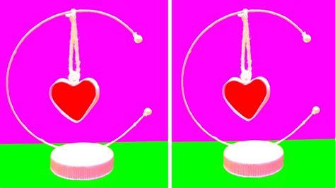 How To Make Showpiece With Paper - diy paper showpiece valentines day craft ideas