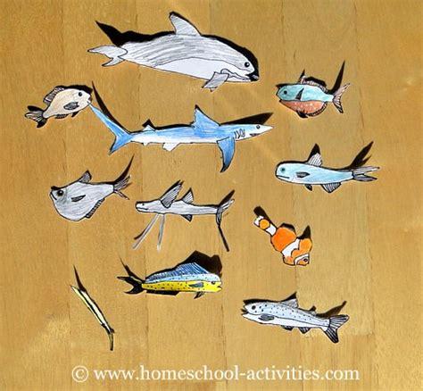 printable fish for diorama diorama ocean printable images