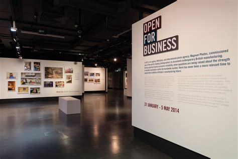 visual communication design exhibition open for business exhibition graphics surely
