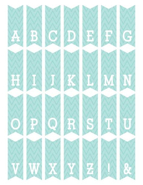 printable alphabet garland free printable mini alphabet bunting from scrapnfonts