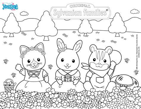 sylvanian family coloring page sylvanian family coloring pages coloring pages