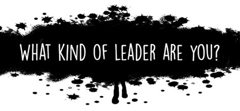 Leadership Mba What Do You Learn by What Type Of Leader Are You