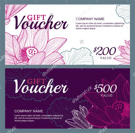 business voucher template 25 business voucher templates free sle exle
